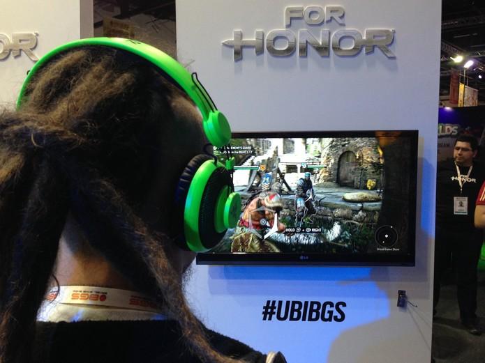 Sucesso certo': produtora de For Honor apresenta jogo na BGS