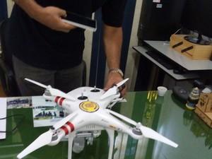 Drone sera usado durante Operação Verão em São Vicente (SP) (Foto: Divulgação/Prefeitura de São Vicente)