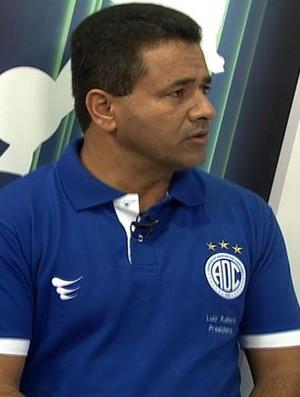 Luiz Roberto- presidente do confiança (Foto: Reprodução/Tv Sergipe)