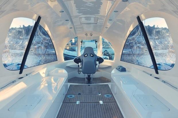 Jet Capsule, o menor iate do mundo (Foto: reproduçao)