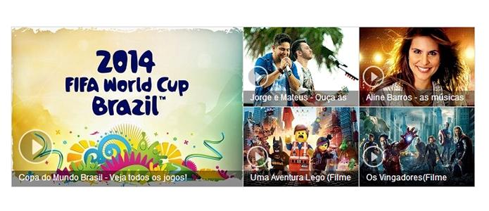 Atalhos podem levar diretamente a vídeos  populares em qualquer site da web (Foto: Reprodução/Paulo Alves)