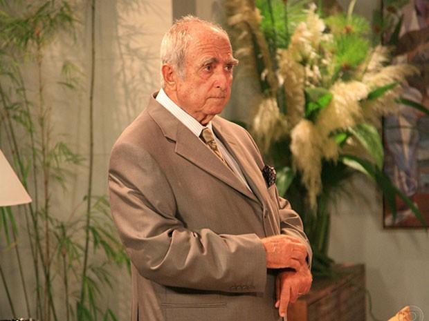 Elias Gleizer em Guerra e Paz (Foto: TV Globo)