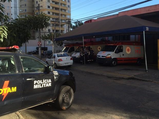MP faz ação para combater fraudes no Samu, em Goiânia, Goiás (Foto: Cassiano Rolim/TV Anhanguera)