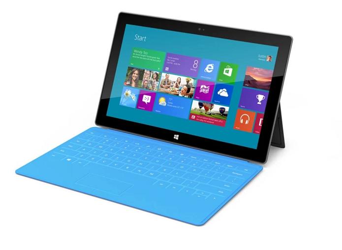 Surface poderia ter tela tátil no futuro (Foto: Divulgação/Microsoft)