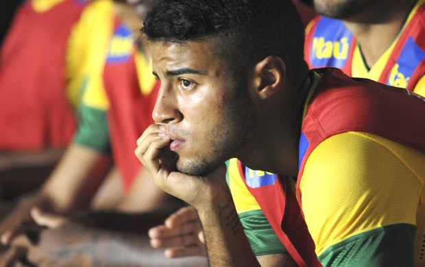 Rafinha, seleção sub-20, Brasil e Equador, AP (Foto: Agência AP)