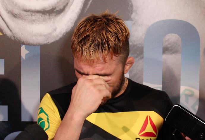 Rony Jason UFC Fortaleza (Foto: Reprodução)