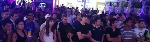 Sexta edição do TEM Games atrai cerca de 20 mil pessoas (Renata Marconi/ G1)