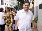 Amigos e familiares vão à missa pelos 30 dias da morte de Chico Anysio no Rio