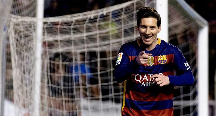 Lionel MEssi Barcelona 500 gols (Foto: Agência Getty Images)