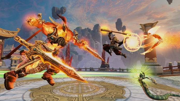 Melhores jogos grátis para PlayStation 4: Smite (Foto: Divulgação/Hi-Rez)