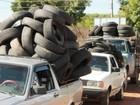 Projeto que recolhe pneus em Santa Bárbara vai a ecoponto nesta quarta