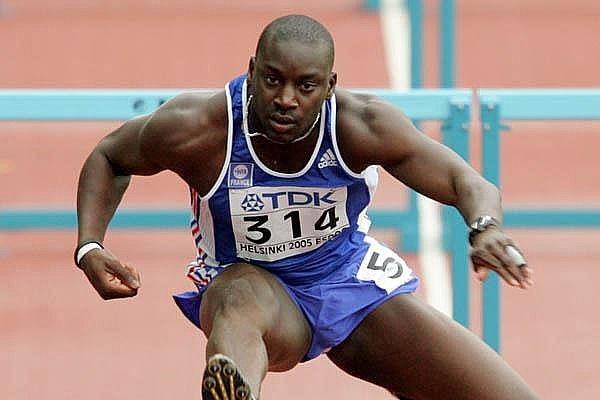 Bicampeão mundial francês Ladje Doucoure disputará os 110 m com barreiras no Mangueirão  (Foto: IAAF/Divulgação)