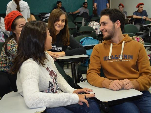 Sameh entre amigas de faculdade em Piracicaba (Foto: Claudia Assencio/G1)