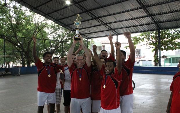 Comemoração na Copa Gospel (Foto: Wenner Tito/Globoesporte.com)