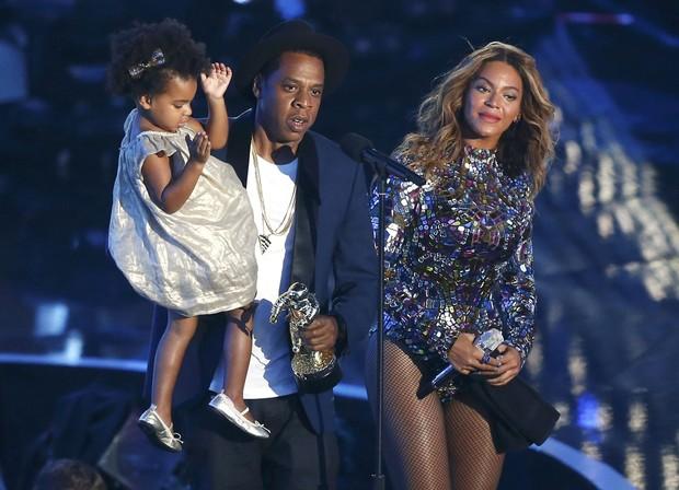Beyoncé e Jay Z com Blue Ivy (Foto: Agência Reuters)