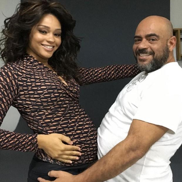 Juliana Alves e Wilson Eliodorio (Foto: Reprodução)