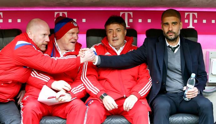 Matthias Sammer Pep Guardiola Bayern (Foto: Reuters)