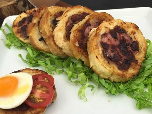 Baguete com Carne Moída