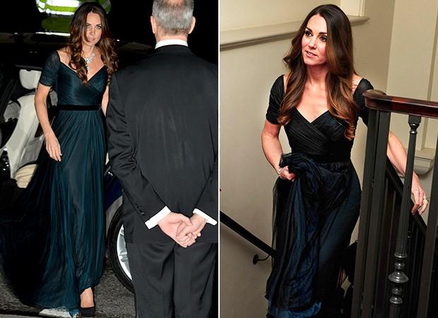 Kate Middleton repete roupa (Foto: Agência AFP - Agência Reuters)