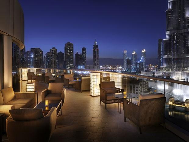 O luxo que marca Dubai nso exteriores, pode ser percebido também no lado de dentro  (Foto: Isabella Pinheiro/Gshow)