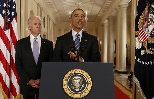 Barack Obama fala sobre o acordo nuclear com o Irã (Foto: Andrew Harnik/Reuters)