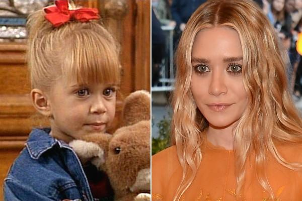 ... Assim como sua irmã gêmea, Ashley Olsen. (Foto: Divulgação e Getty Images)