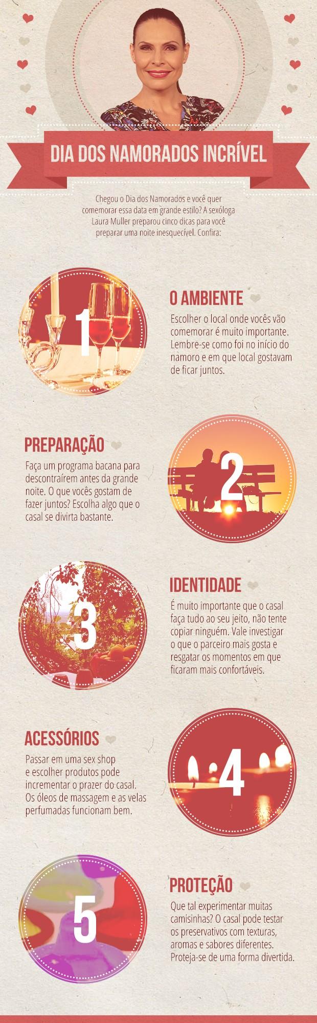Laura Muller dá dicas para curtir o Dia dos Namorados (Foto: TV Globo/Altas Horas)