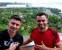 """Do Mundial à """"tortura"""": Ceará e Alex unem forças para guiar Inter contra Z-4"""