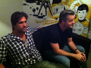 Victor e Léo Uberlândia (Foto: Vanessa Pires/G1)
