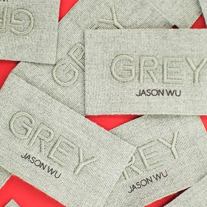 A etiqueta da Grey Jason Wu (Foto: Reprodução/Instagram)