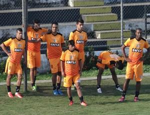 ASA treino, em Arapiraca (Foto: Leonardo Freire GloboEsporte.com)