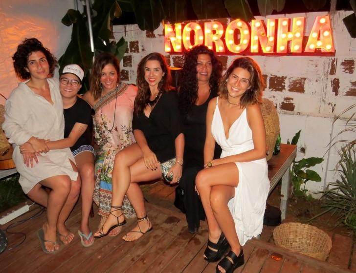Lua, Gadú, Joana, Paula Sultanum, Ana Maria e Fernanda Paes Leme
