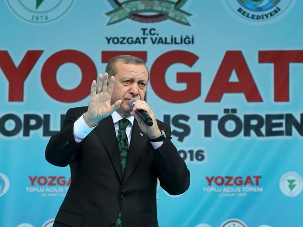 Turquia convoca embaixador alemão por sátira sobre Erdogan (Foto: Kayhan Ozer/Presidential Palace/Reuters)
