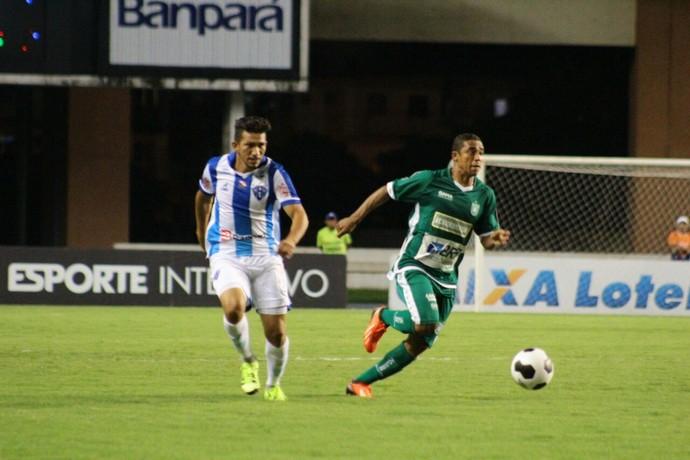 Raí na partida Paysandu x Gama, pela final da Copa Verde (Foto: Fernando Torres/Ascom Paysandu)