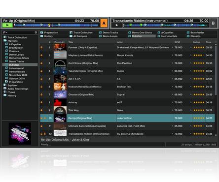 screenshot de Traktor Pro