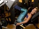 Karina Bacchi mostra treino que a deixou com o corpo definido