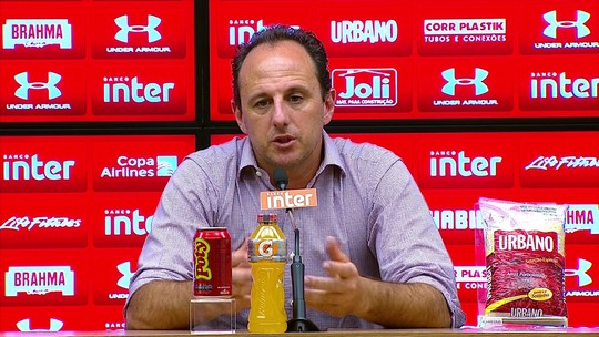 """Ceni explica por que Lugano não joga e cita: """"Outros 17 também ficaram fora"""""""