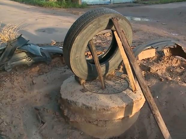 Chuvas causam problemas de infraestrutura nas ruas de São Luís