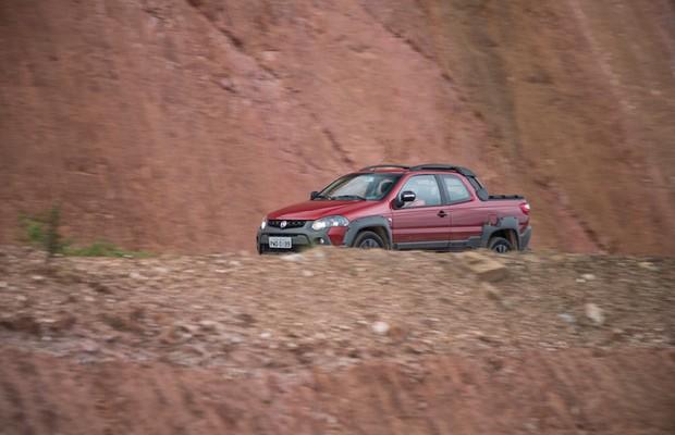 Fiat Strada Adventure Extreme CD (Foto: Fabio Aro/Autoesporte)