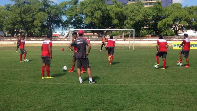 Sergipe, treino (Foto: Felipe Martins / Ascom CSS)