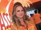 Letícia Birkheuer diz que jamais seria rainha de bateria: 'Não é a minha praia'