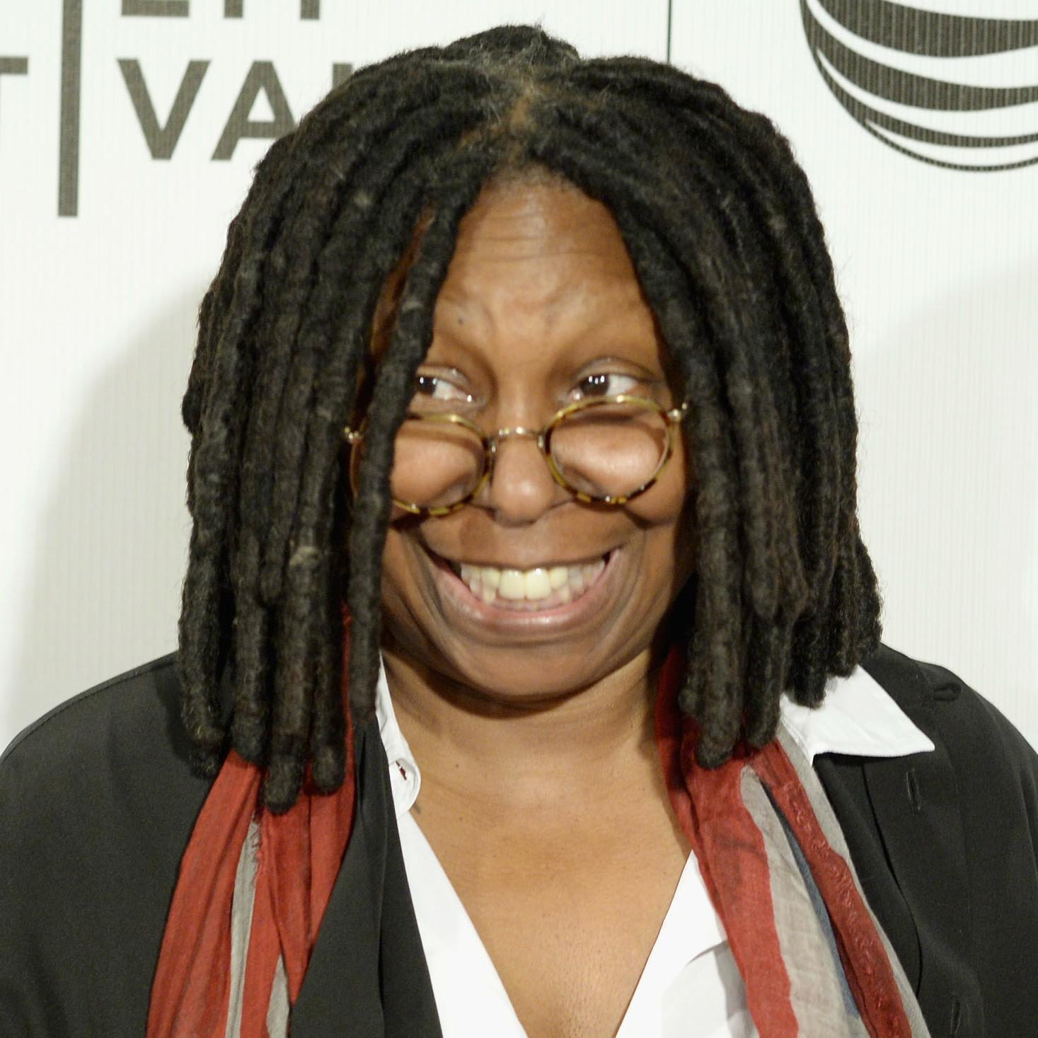 Caryn Elaine Johnson, mais conhecida como a atriz e apresentadora Whoopi Goldberg. (Foto: Getty Images)