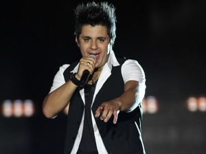 Cristiano Araújo se apresenta no ES (Foto: Divulgação / Sertanejo Pop Festival)