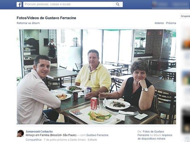 Postagens no Facebook mostram que família era unida e tinha bom relacionamento (Foto: Reprodução/Facebook)