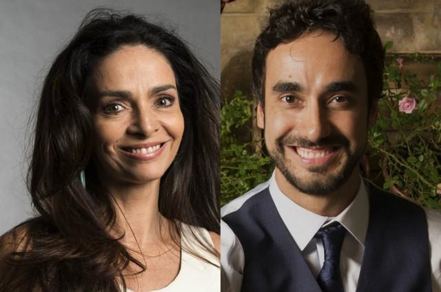 Claudia Ohana e Gabriel Godoy (Foto: TV Globo)