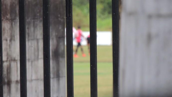 Joinville treino CT fechado (Foto: João Lucas Cardoso)