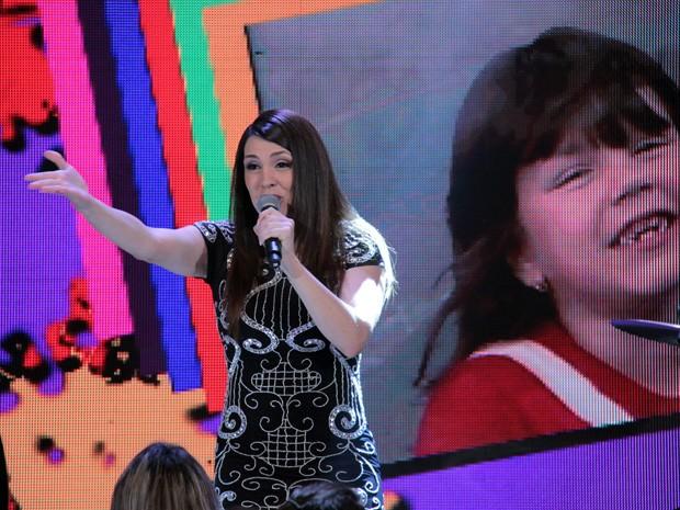 Simony volta ao tempo de Balão Mágico no 'Altas Horas' (Foto: TV Globo/Altas Horas)