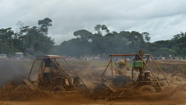 12º edição da Corrida Nacional de Jericos, em Alto Paraíso, Rondônia (Foto: Eliete Marques)