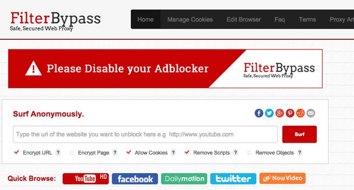 Use um serviço de proxy para ter acesso a vídeos bloqueados (Foto: Reprodução/Paulo Alves)
