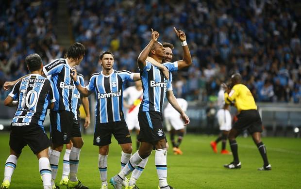 Grêmio x Joinville JEC Arena do Grêmio Erazo gol